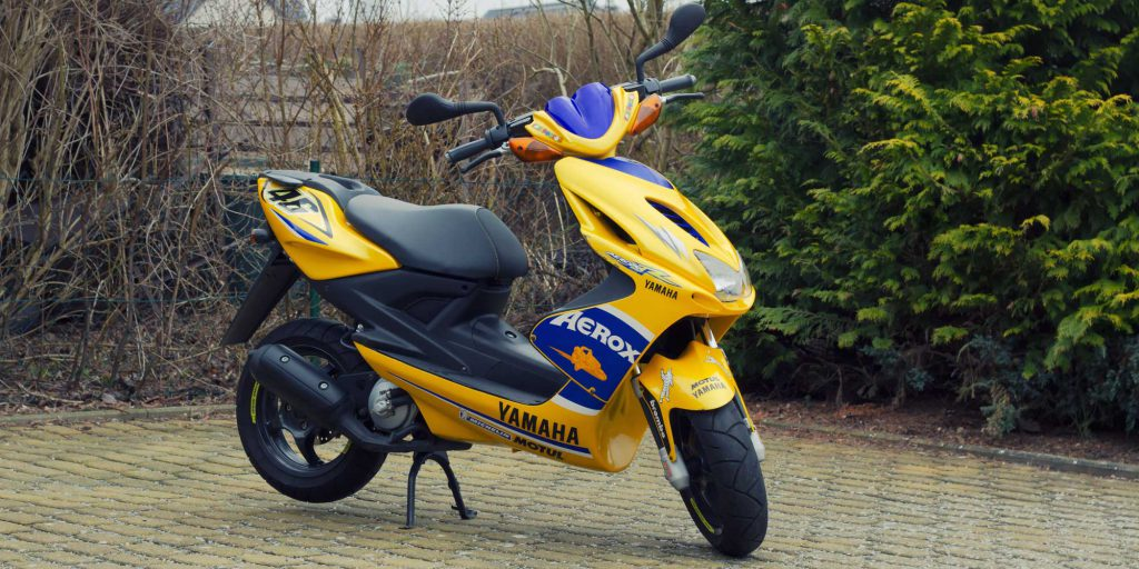 Klasse AM: Yamaha Aerox