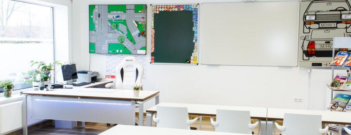 3. Ausstattung Unterrichtsraum